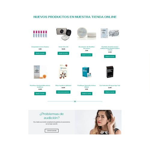 Página Web Visioralia.es - E-commerce