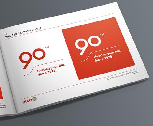 ELCO 90TH LOGO - Graphic Design