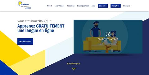 Site Internet | Brulingua by Actiris