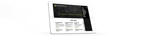 Web Design & Development for a University Lab - Website Creation