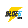BLUE6 Media logo