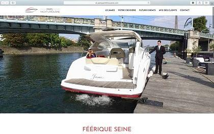 Réalisation d'un site de Yachting sous WordPress