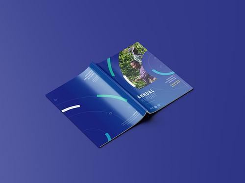 Annual Report design - Design & graphisme