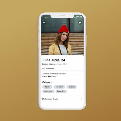 Social Dating Community App - Mobile App