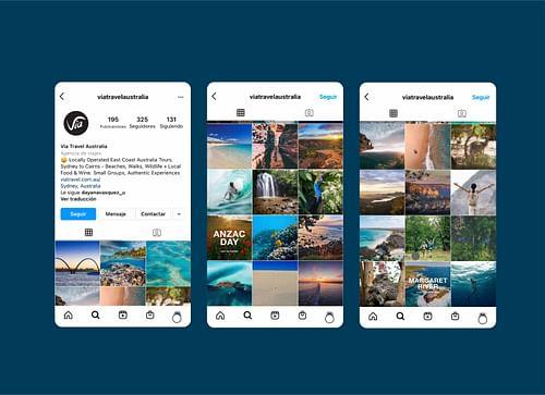 Desarrollo web / Tienda online ViaTravel Australia - Estrategia digital
