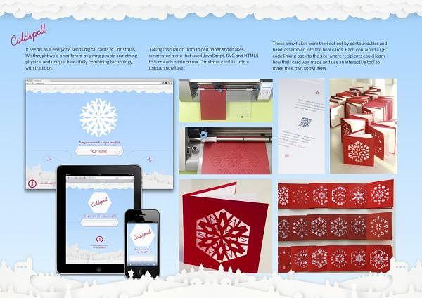 COLDSPELL CHRISTMAS CARD