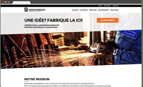 Espace Fabrique - E-commerce