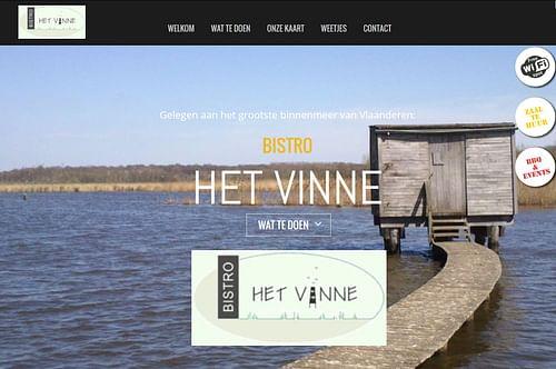 Het Vinne - Website Creatie