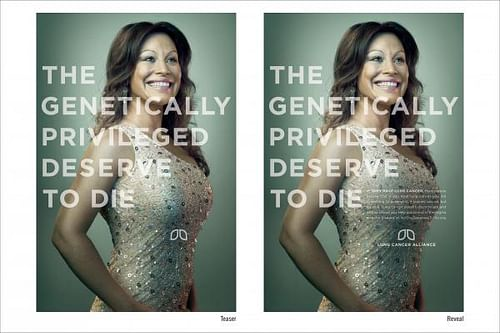GENETICALLY PRIVILEGED - Advertising