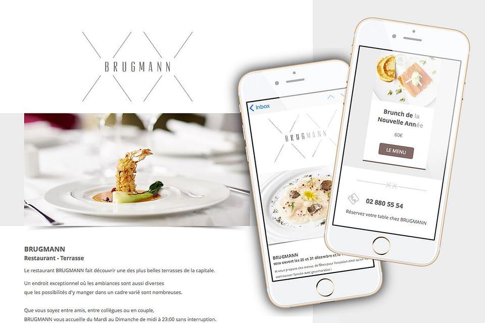 BRUGMANN Restaurant mailings