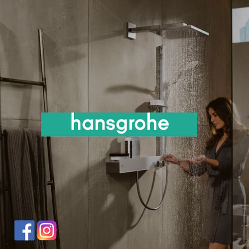 Hansgrohe Belgium social media support & analytics - Réseaux sociaux