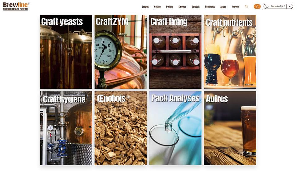 Brewline - Boutique en ligne pour micro-brasseries