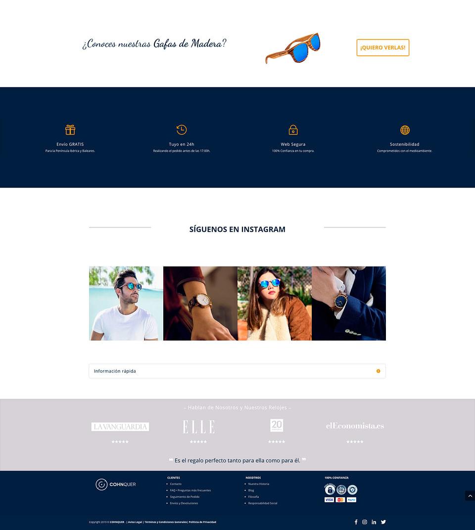 Branding y Diseño web Marca Complementos