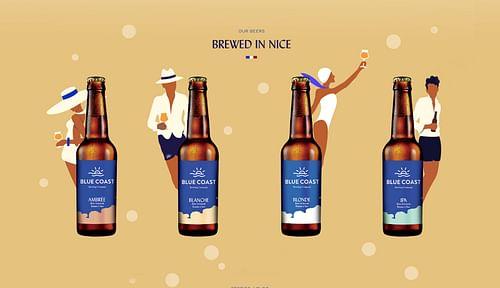 Blue Coast Brewing - Website Creation