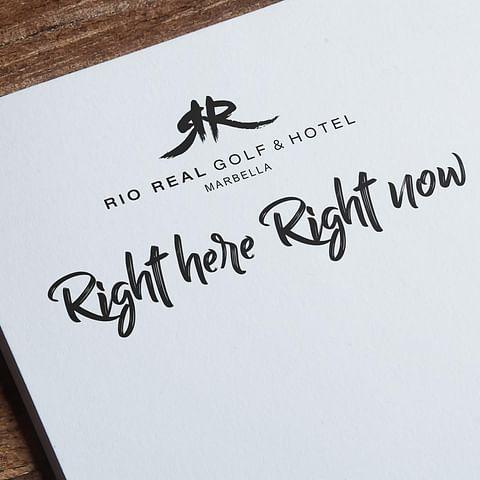 Comunicación On y Off Line - Río Real Golf & Hotel