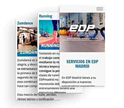 Marketing online para EDPmadrid