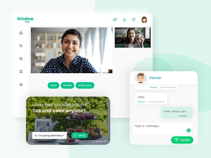 Frindow  - Social Networking  Web App