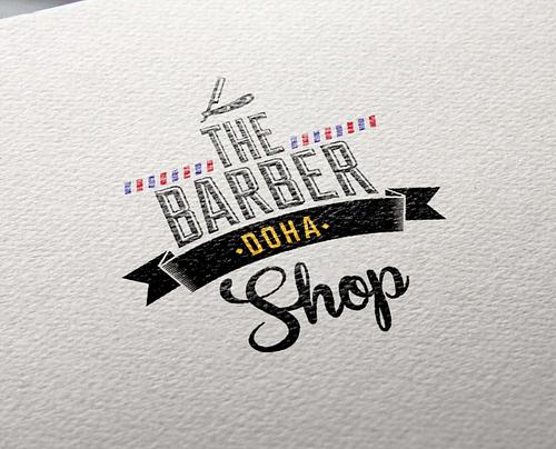 Identidad Visual The Barber Shop - Publicidad