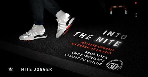 Into the Nite (Nite Jogger) - Stratégie de contenu