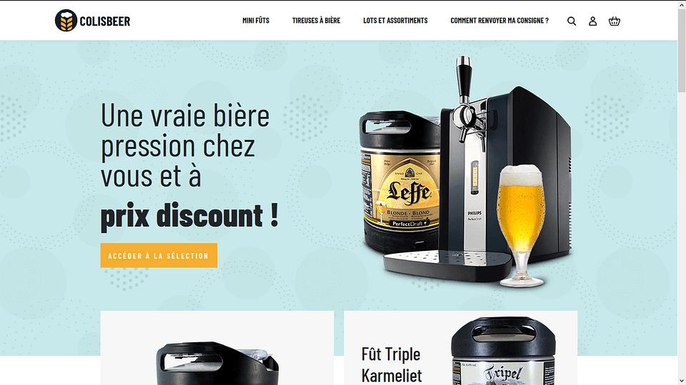 Colis Beer - Ecommerce de vente de bieres