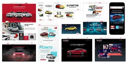 Kia Motors Deutschland - Webanwendung