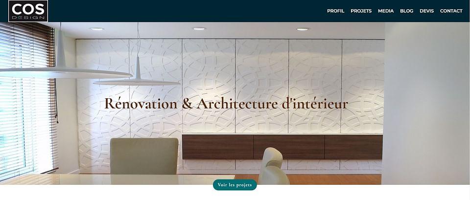 Création d'un site d'Architecte [site vitrine]