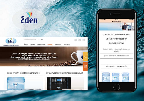 Eden Springs - Digital Strategy