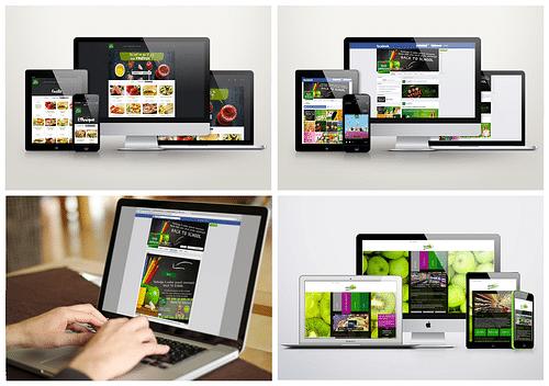 sites web et page Facebook - Création de site internet