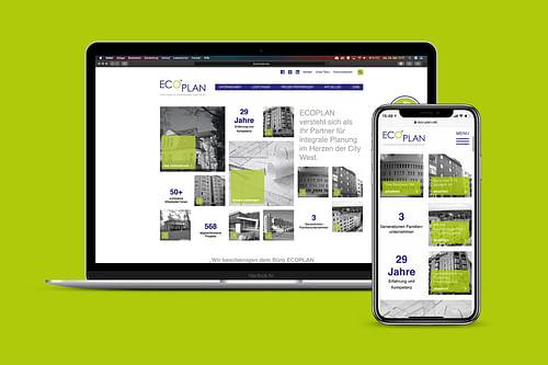 Webdesign und Umsetzung für ein Ingenieur-Büro - Digitale Strategie