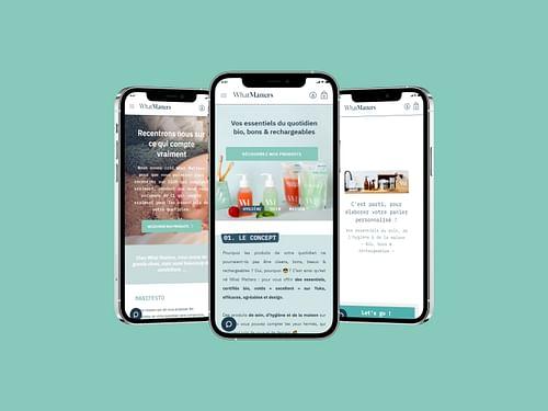 WhatMatters | Mobile Version - E-commerce